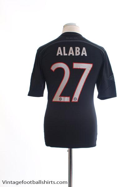 2014-15 Bayern Munich Third Shirt Alaba #27 S