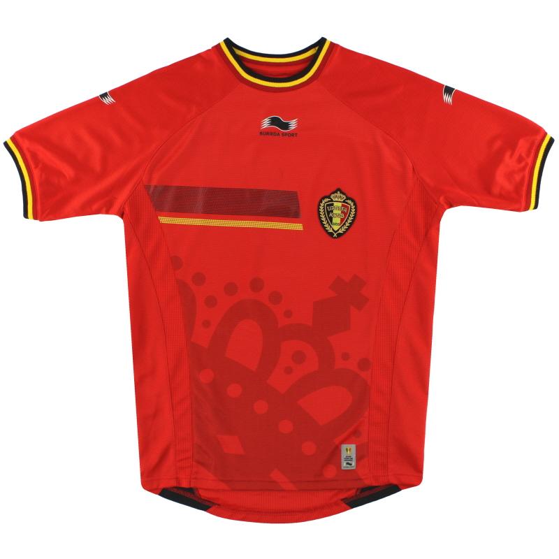 2014-15 Belgium Burrda Sport Home Shirt XL