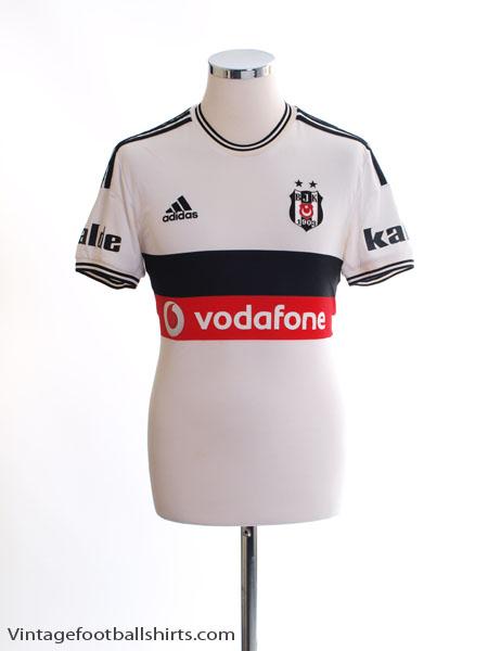 2014-15 Besiktas Home Shirt S - B48530