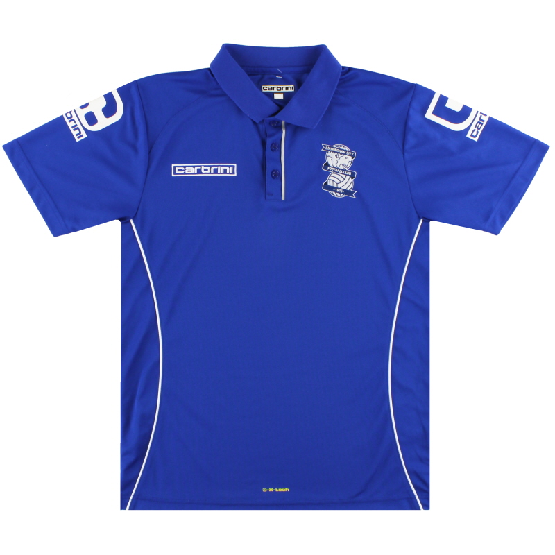 2014-15 Birmingham Carbrini Polo Shirt *Mint* M