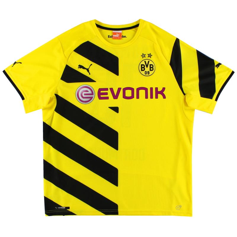 2014-15 Borussia Dortmund Home Shirt XL