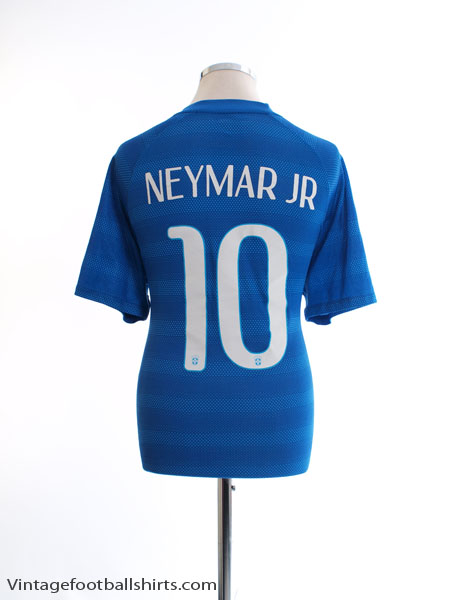 2014-15 Brazil 'Authentic' Away Shirt Neymar Jr #10 XL