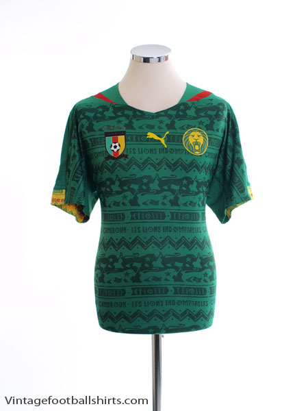 2014-15 Cameroon Home Shirt L