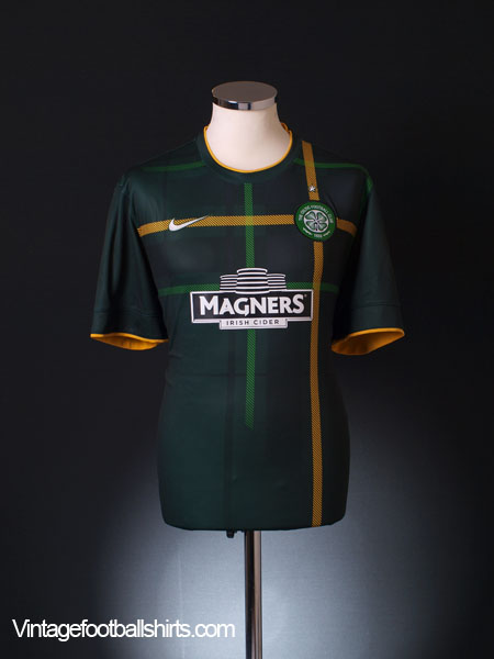2014-15 Celtic Away Shirt S