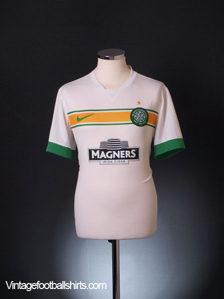 2014-15 Celtic Third Shirt M