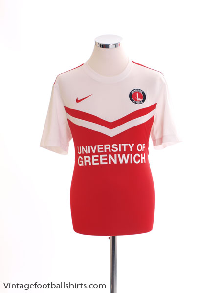 2014-15 Charlton Home Shirt M