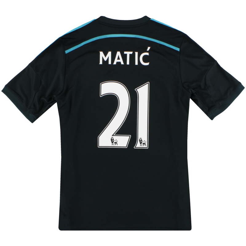 2014-15 Chelsea adidas Third Shirt Matic #21 *Mint* M - G92202