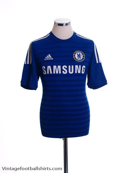 2014-15 Chelsea Home Shirt *Mint* Y
