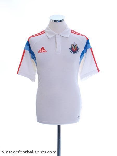 2014-15 Chivas Guadalajara adidas Polo Shirt M - F87404