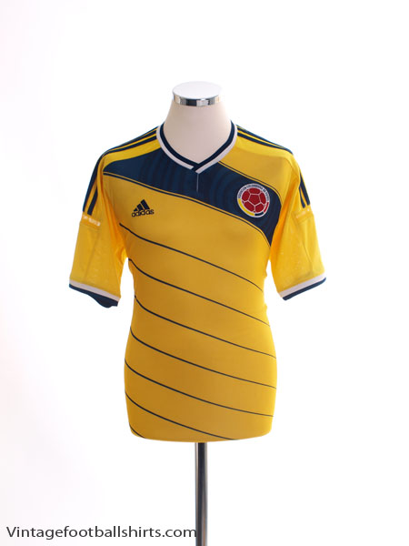 2014-15 Colombia Home Shirt M