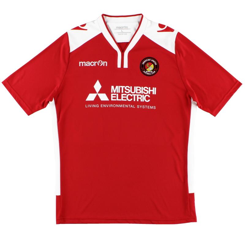 2014-15 Ebbsfleet United Macron Home Shirt *Mint* L