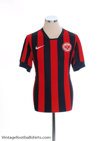 2014-15 Eintracht Frankfurt Home Shirt S - 656259-011