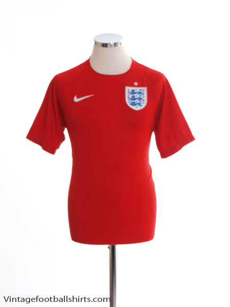2014-15 England Away Shirt S