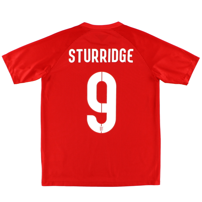 2014-15 England Away Shirt Sturridge #9 *Mint* XL.Boys