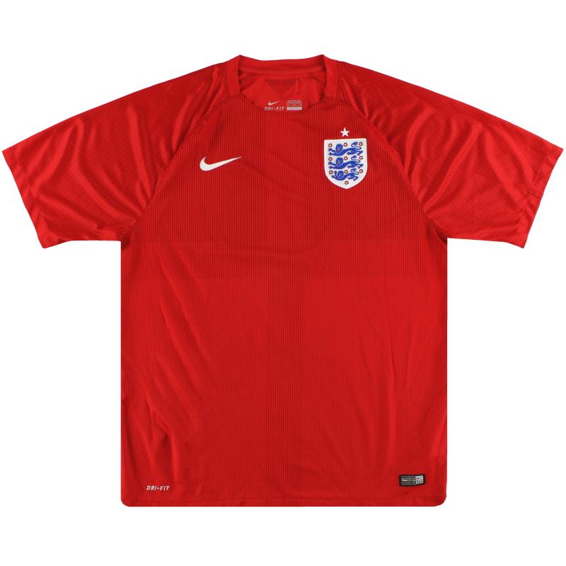 2014-15 England Nike Away Shirt XL - 588102-600