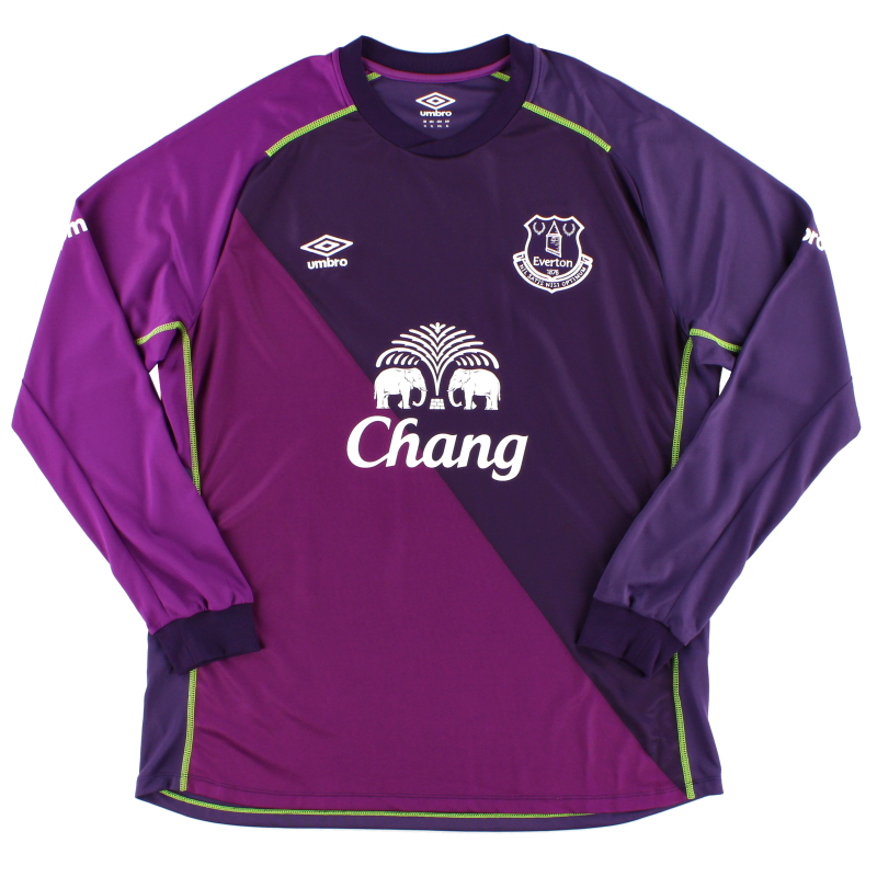 2014-15 Everton Goalkeeper Shirt *Mint* XL