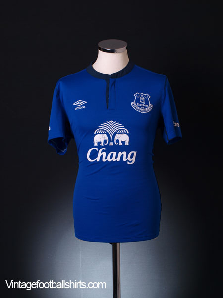 2014-15 Everton Home Shirt M