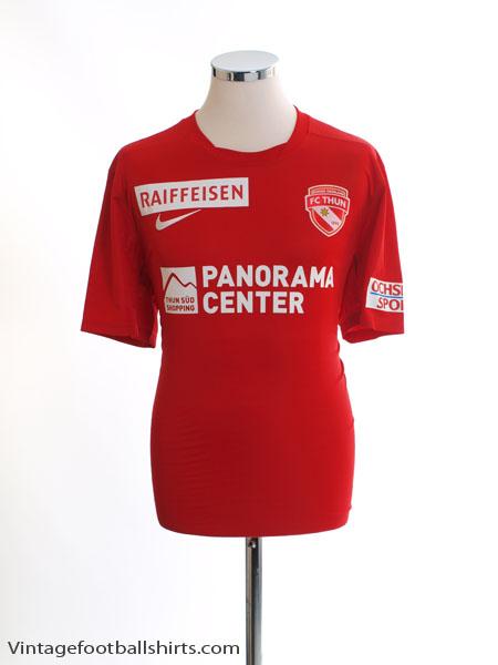 2014-15 FC Thun Home Shirt *Mint* L - 448209-657