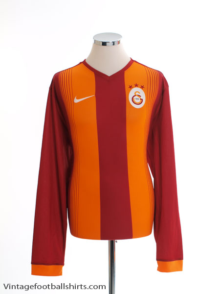 2014-15 Galatasaray Home Shirt L/S XL
