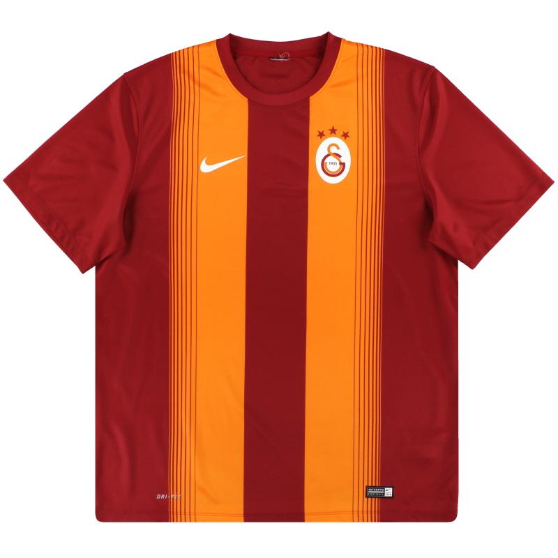 2014-15 Galatasaray Nike Basic Home Shirt XL - 618776-606