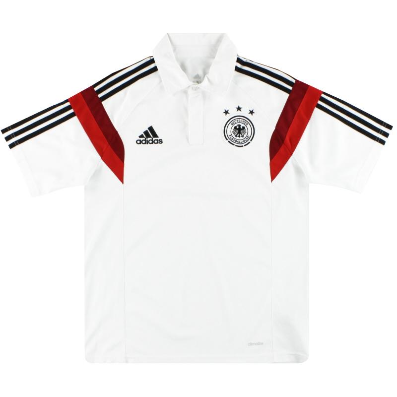 2014-15 Germany adidas Polo Shirt M - D83044