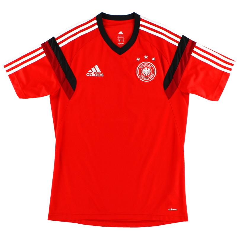 2014-15 Germany Adizero Training Shirt S