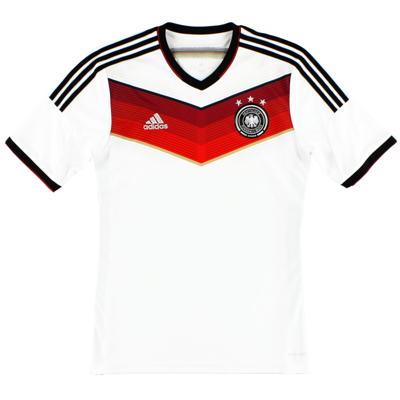 2014-15 Germany Home Shirt *Mint* XXL - G87445