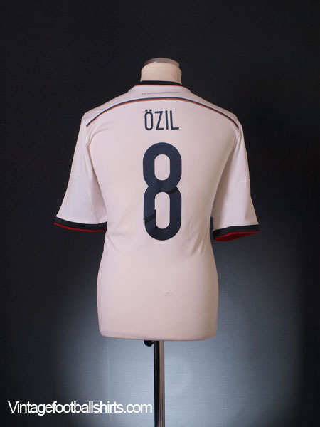 2014-15 Germany Home Shirt Ozil #8 L