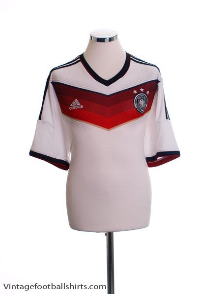 2014-15 Germany Home Shirt *Mint* XL