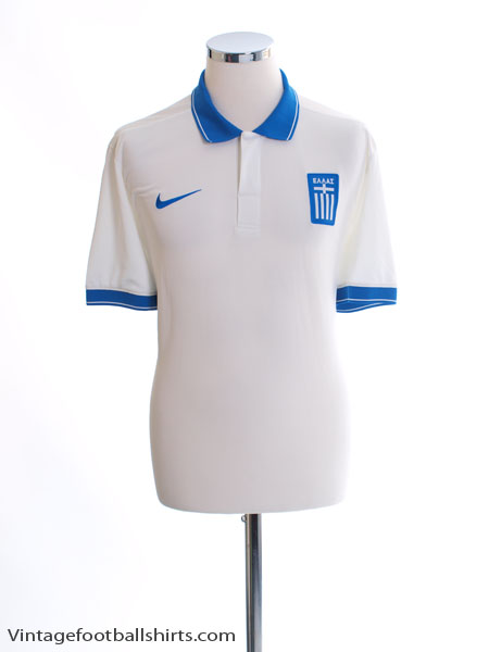 2014-15 Greece Player Issue Authentic Away Shirt *Mint* XL - 647739-104