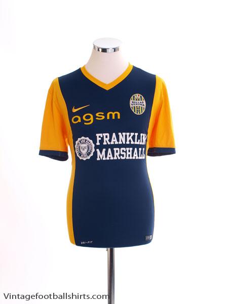 2014-15 Hellas Verona Home Shirt M