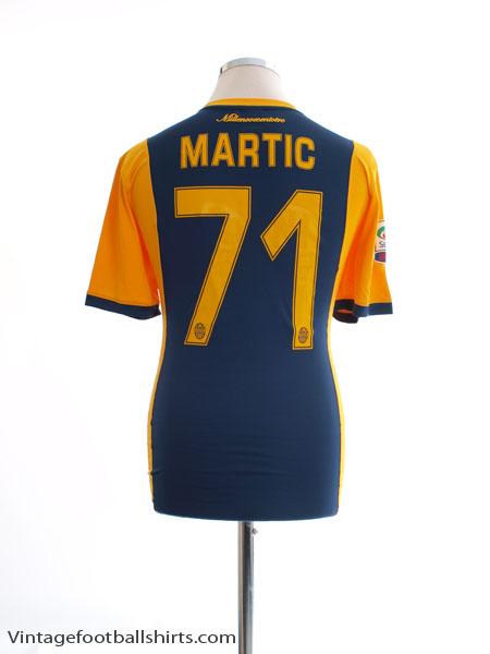 2014-15 Hellas Verona Home Shirt Martic #71 M