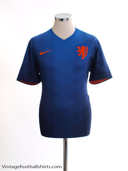 2014-15 Holland Away Shirt M