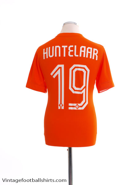 2014-15 Holland Home Shirt Huntelaar #19 S
