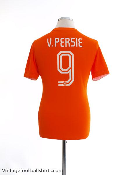 2014-15 Holland Home Shirt v. Persie #9 XL.Boys - 577956-815