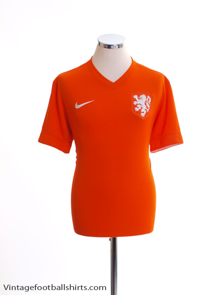 2014-15 Holland Home Shirt M