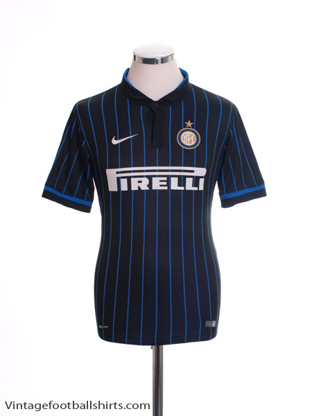 2014-15 Inter Milan Home Shirt XL.Boys