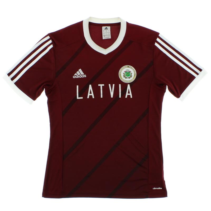 2014-15 Latvia Home T-Shirt S - F50272