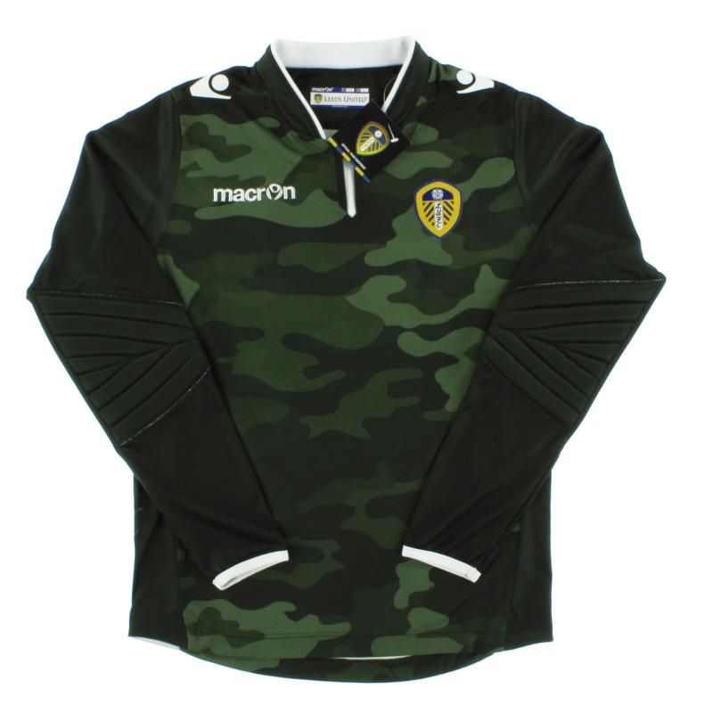2014-15 Leeds Goalkeeper Shirt *w/tags* L.Boys