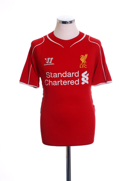 2014-15 Liverpool Away Shirt *Mint* M
