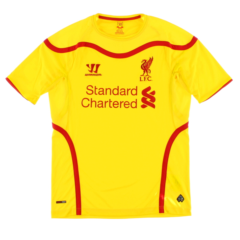 2014-15 Liverpool Away Shirt S - WSTM404