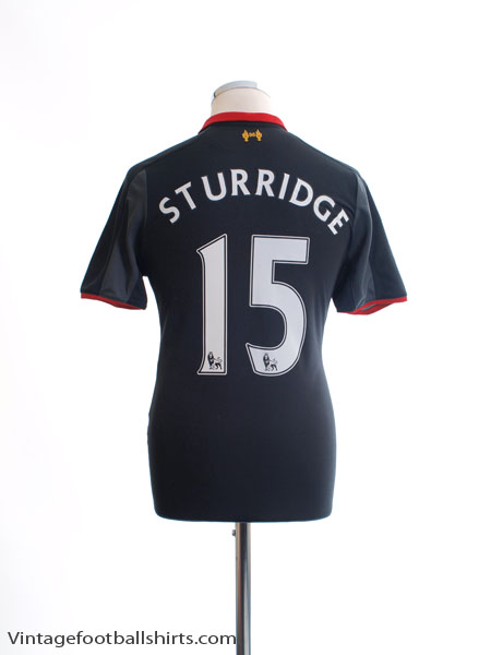2014-15 Liverpool Third Shirt Sturridge #15 S