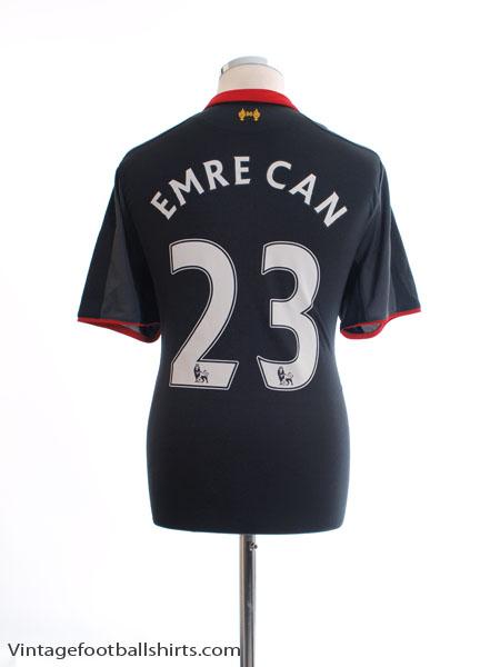 2014-15 Liverpool Third Shirt Emre Can #23 L