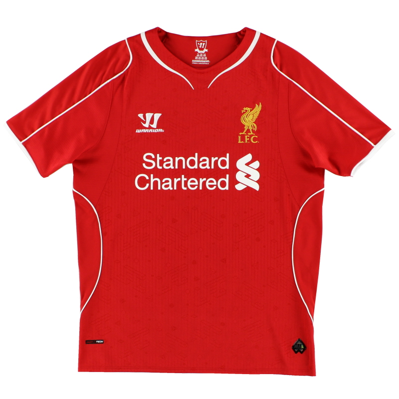 2014-15 Liverpool Warrior Home Shirt L - WSTM400