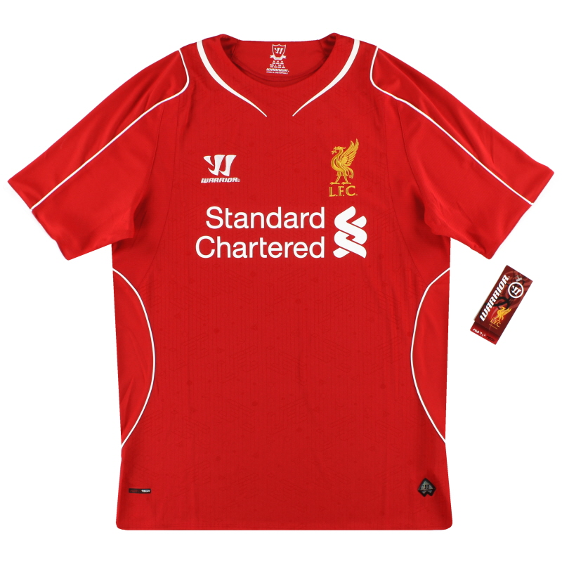 2014-15 Liverpool Warrior Home Shirt *w/tags* M - WSTM400