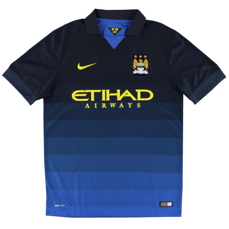 2014-15 Manchester City Away Shirt S - 611051-476