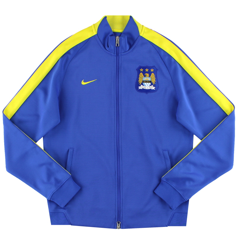 2014-15 Manchester City Nike N98 Track Jacket *As New* M - 607720-411