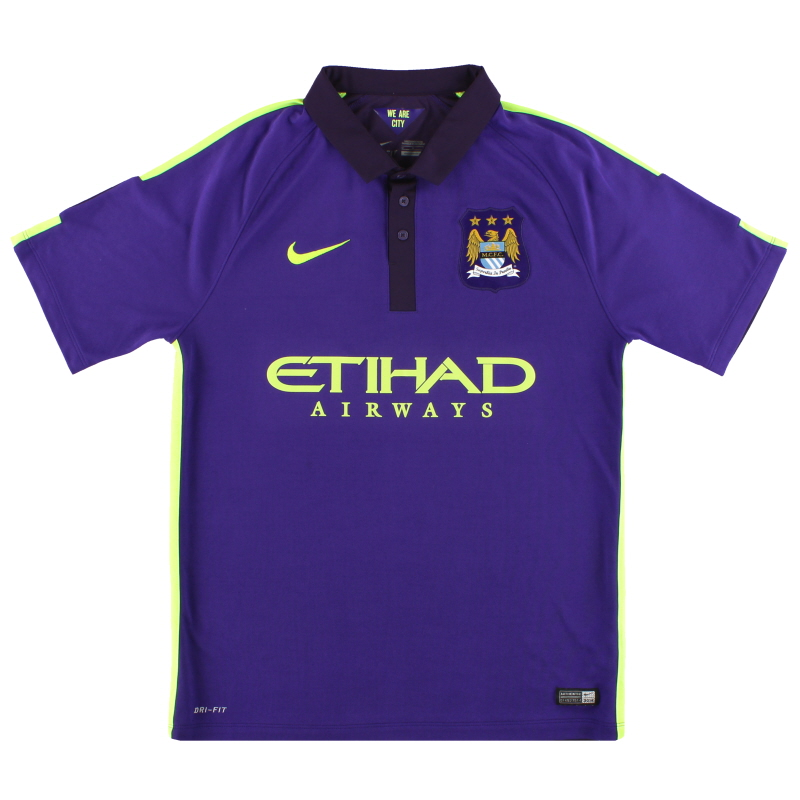 2014-15 Manchester City Nike Third Shirt M - 631208-547