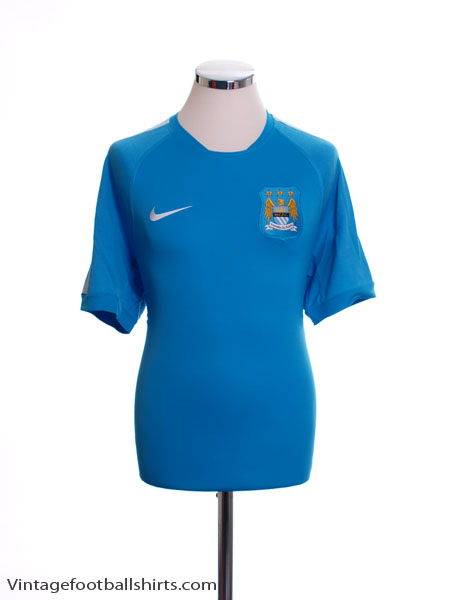 2014-15 Manchester City Training Shirt *BNWT* L