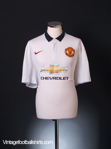 2014-15 Manchester United Away Shirt *BNWT* L - 611031-624